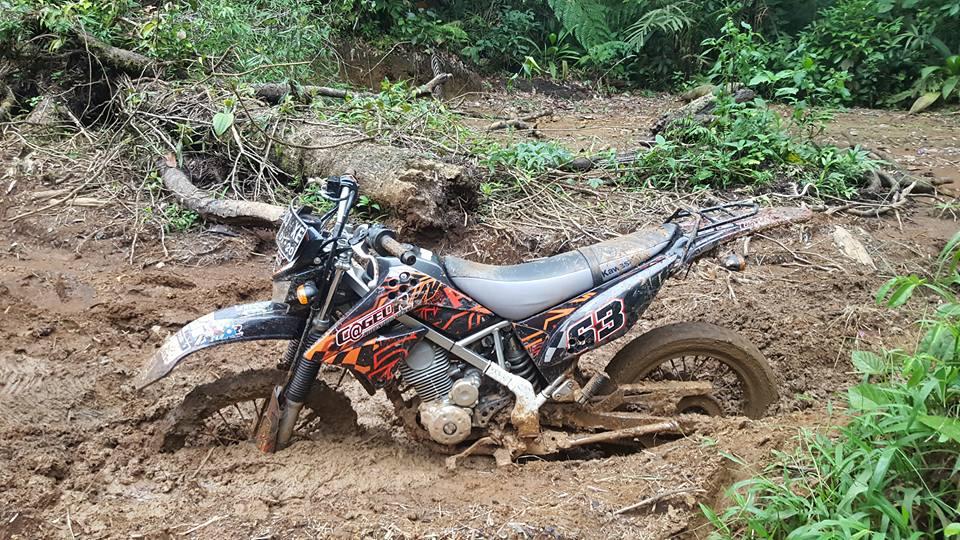 Track Motor Cross paling Exstrim di Perbatasan Cianjur-Bandung